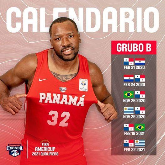 Calendario de los Clasificatorios del Grupo B al FIBA AmeriCup 2021