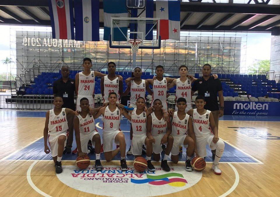 Selección Nacional de Panamá que nos representa en el Centroamericano Sub-14 Masculino – 2019