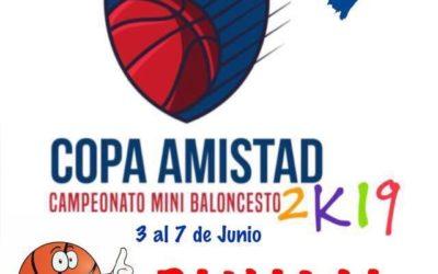 COPA AMISTAD 2019 DE MINI BALONCESTO EN PANAMA