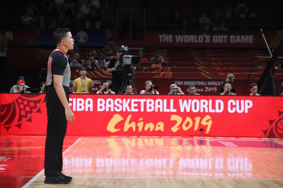 Debut del compatriota Julio Anaya Freile en el Grupo G del Mundial de China – 2019