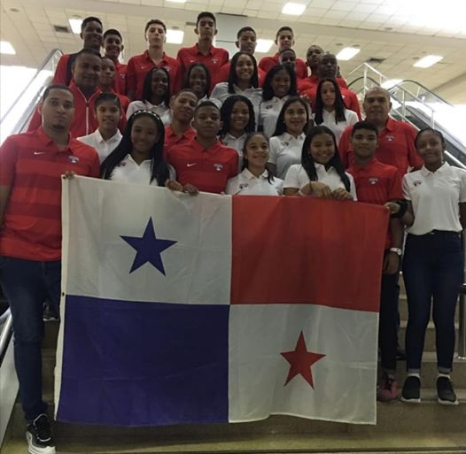Delegaciones de Panamá rumbo al Centroamericano Sub-14 Masculino y Femenino en Nicaragua