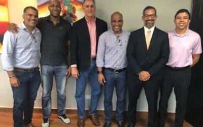 Ing. Eduardo Cerda Director de Pandeportes recibió a miembros de la FEPABA