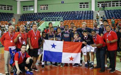 Panamá queda en el Grupo «B» del Campeonato Centrobasket Sub-17 Masculino