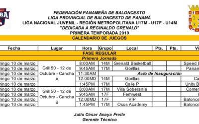 """Arranca la Liga Nacional Juvenil Copa """"Reginaldo Grenald"""""""