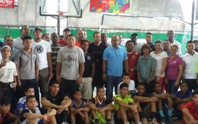 1ra. Clínica de Baloncesto organizada por FEPABA.