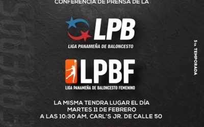 Conferencia de prensa de la Serie Final de la V Temporada de la LPB será mañana martes.