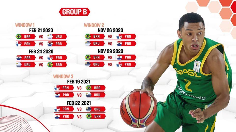 Calendario oficial del Grupo B de los Clasificatorios del FIBA AmeriCup – 2021