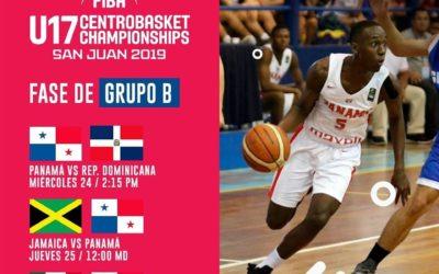 Calendario oficial de la ronda regular del Centrobasket U17