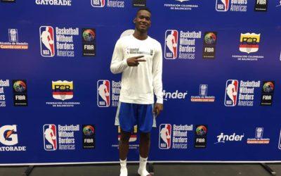 El colonense Jorhiel Zapata representa a Panamá en el Programa de la NBA – Basketball Without Borders Americas