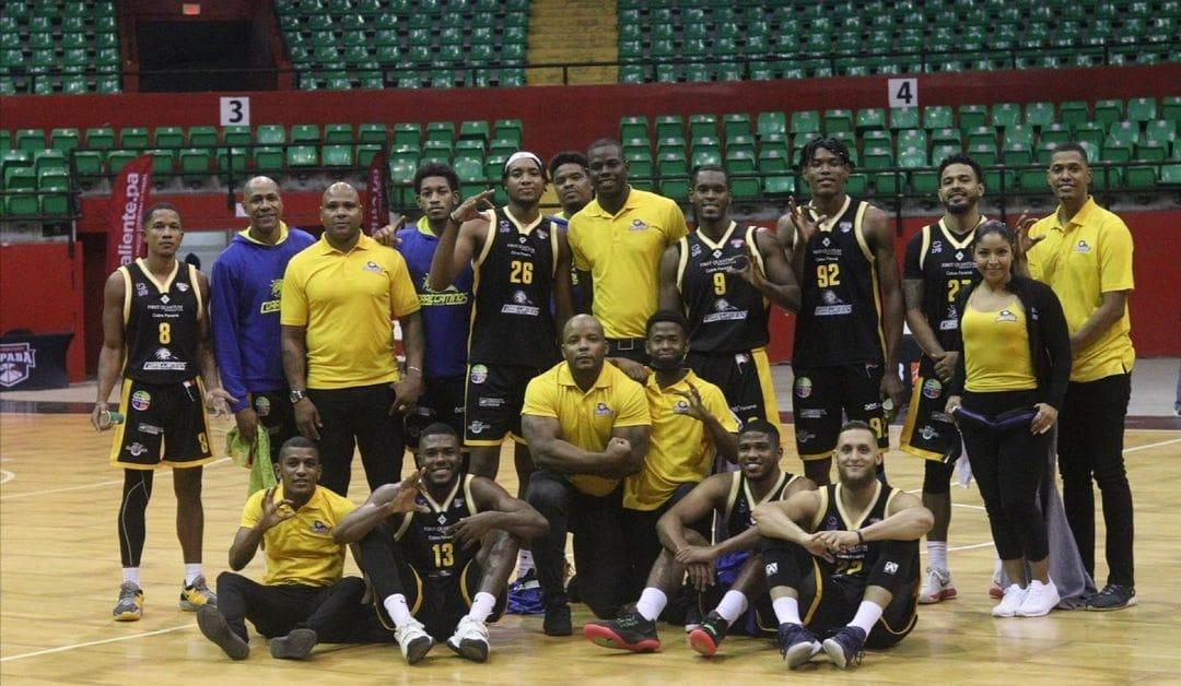 Correcaminos de Colón, primer clasificado a las semifinales de la LPB