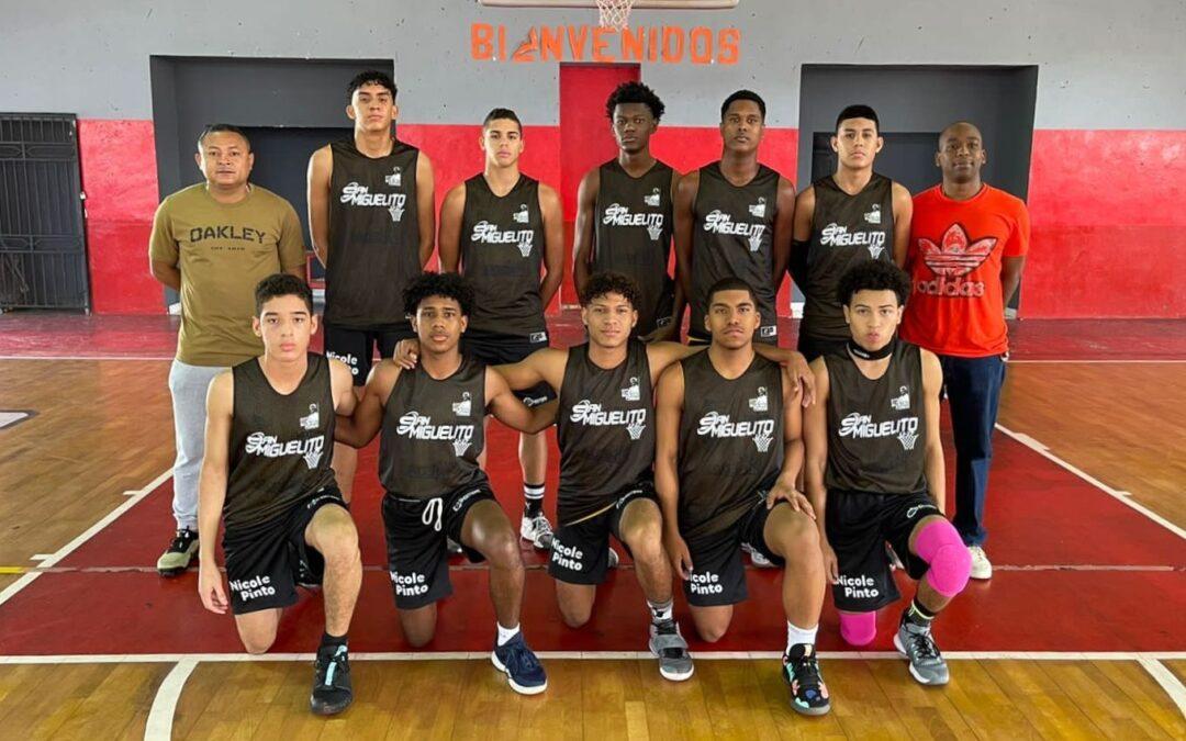 Colón A y San Miguelito se mantienen invictos en el Campeonato Nacional de Baloncesto Masculino U17